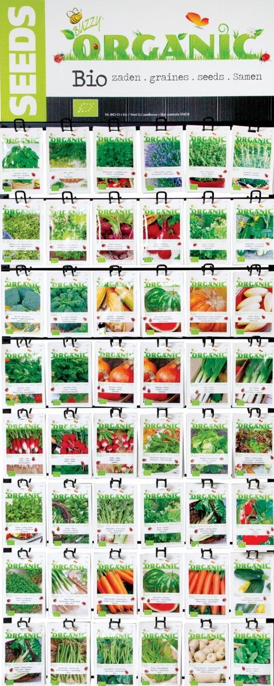 Biologische zaden