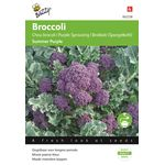 Paarse broccoli zaden