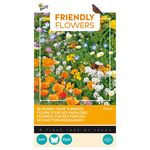 Friendly Flowers Vlinders Laag