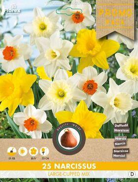 Narcissen bloembollenmix Promo pack 25st.