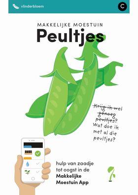 Makkelijke Moestuin zaden Peultjes