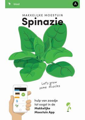 Makkelijke Moestuin zaden Spinazie