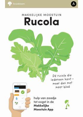 Makkelijke Moestuin zaden Rucola