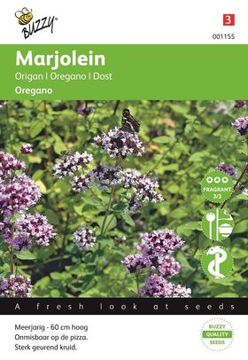 Marjolein of Oregano zaden