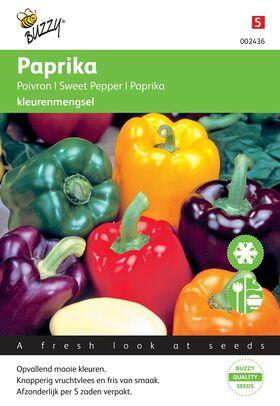 Paprika 5-kleuren mengsel