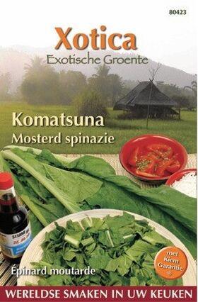 Mosterd Spinazie Komatsuna
