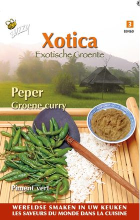Peper Groene Curry