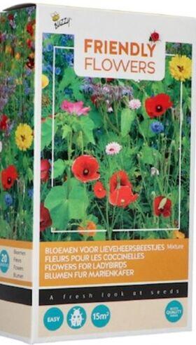 Friendly Flowers Aantrekkelijk voor Lieveheersbeestjes